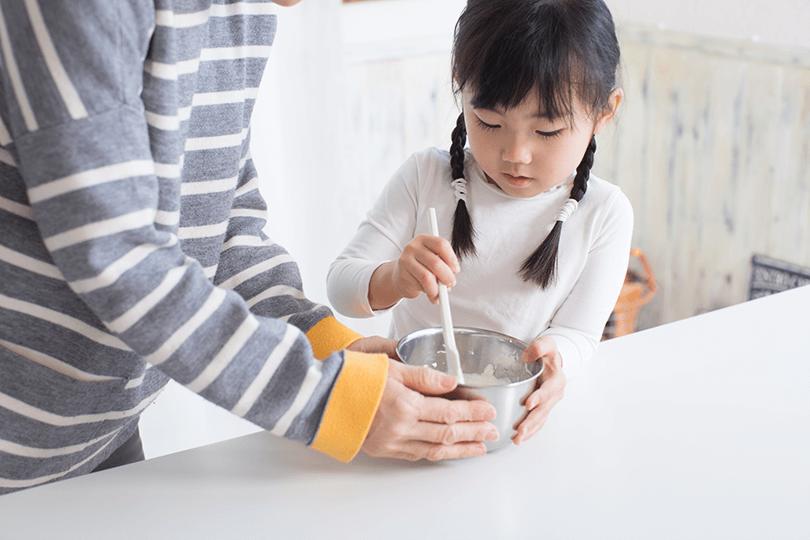 5つの材料で作れる子供が喜ぶ簡単おやつレシピ